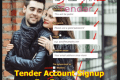 Tender Account Signup