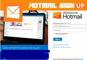 Hotmail Sign Up Page | Hotmail Login – Hotmail Account Set Up