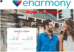 How to Login to eHarmony Account   eHarmony Sign in