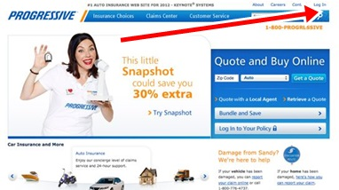 Progressive Car Insurance Sign In Page Online | Progressive Auto Insurance Sign Up- www.progressive.com