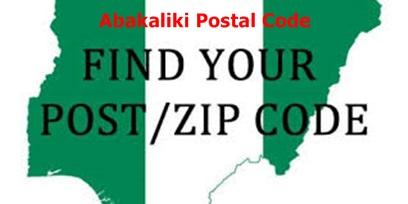 Ebonyi State Abakaliki Postal Codes