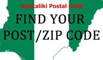 Abakaliki Postal Codes