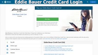 Eddie Bauer Credit Card Rewards | Eddie Bauer Credit Card Login