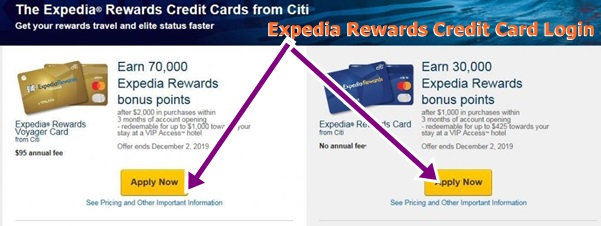 Expedia Rewards Credit Card Login   How to Apply Expedia Rewards Credit Card – www.expedia.com Card