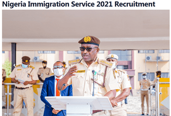 How To Apply For Nigeria Immigration Service Recruitment 2021