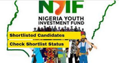 NYIF Shortlisted 10,000 Youths For Training/Disbursement - The Nigeria Youth Investment Fund was also known as NYIF has Shortlisted 10,000 Youths For Training