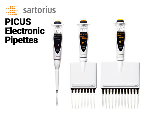 Picus Electronic Pipettes: Improved Precision and Accuracy