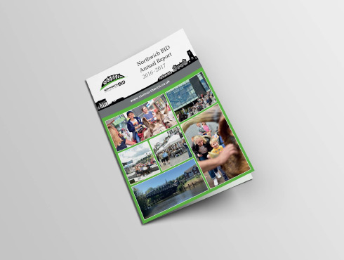 Printed Branded Brochures   Northwich Business Improvement District
