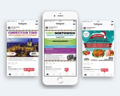 Social Media Competitions   Northwich Business Improvement District