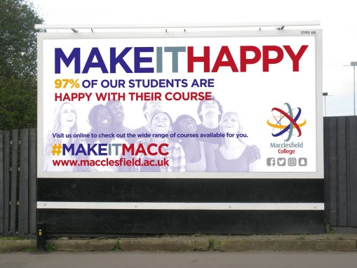#MAKEITMACC Campaign | Macclesfield College