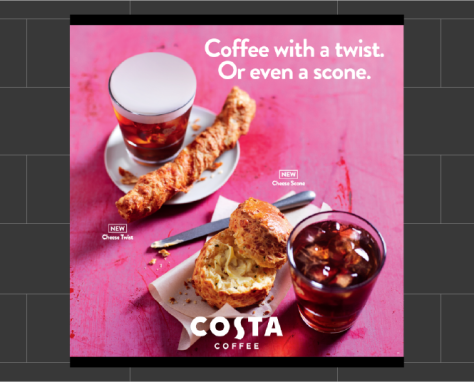 Nationwide Promotional Print | Costa Coffee