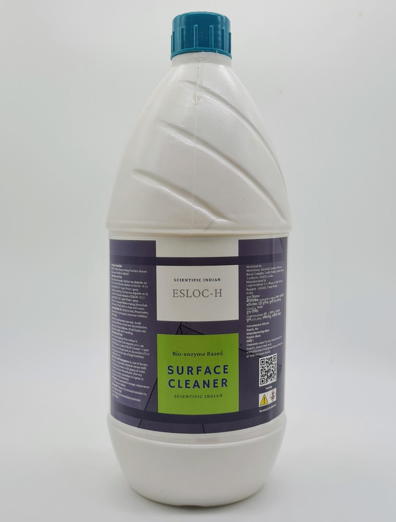 ESLOC H :Bio enzyme based surface cleaner