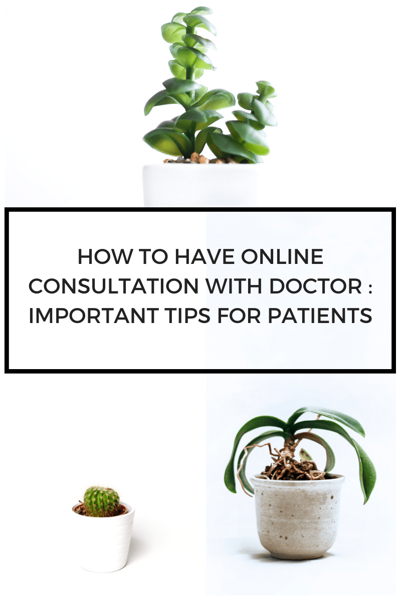 How to have online consultation with doctor : Important tips for patients