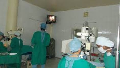 cataract surgery training at Arasan Eye Hospital