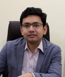 Dr Ankur Yadav, MS , cataract surgeon and ophthalmologist at Vikas child and eye care