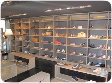 une boutique de chaussures équipée du logiciel de caisse phimag