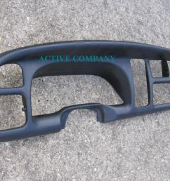 1998 1999 2000 2001 dodge ram 1500 2002 2500 3500 dashboard bezel aftermarket  [ 1024 x 768 Pixel ]