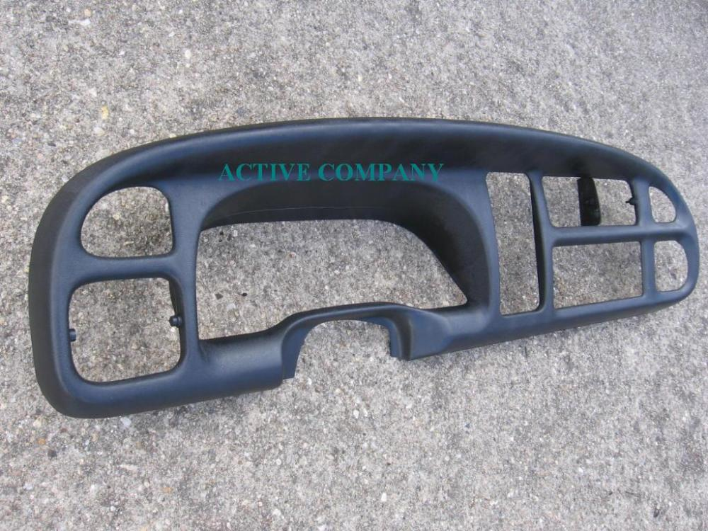 medium resolution of 1998 1999 2000 2001 dodge ram 1500 2002 2500 3500 dashboard bezel aftermarket