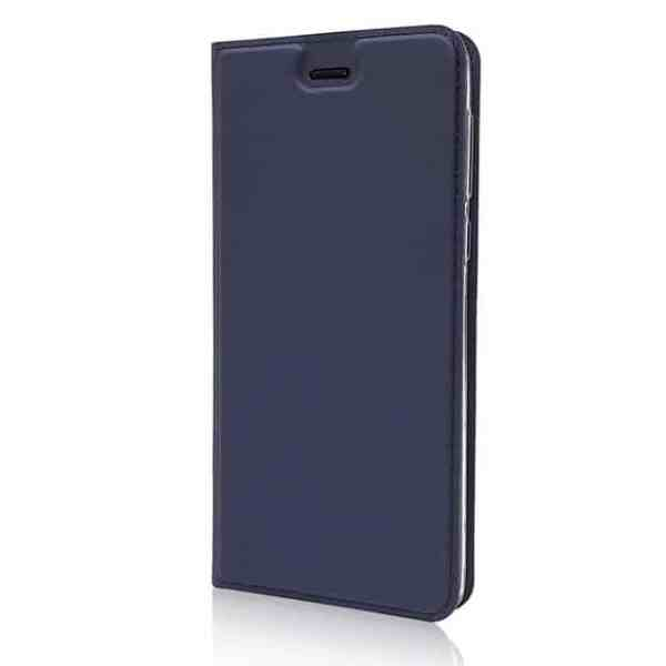 Blue Magnetic Voltage Flip Case For Samsung Galaxy A40