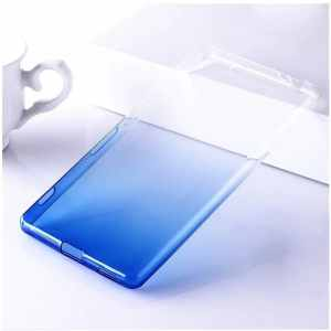 Pink Ultra Thin Gradient Soft TPU Case For Sony Xperia XZ3