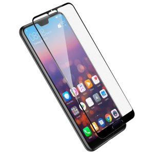 Huawei P20 Pro tempered glass black frame