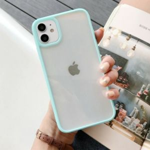 Mint green iPhone XR silicon case