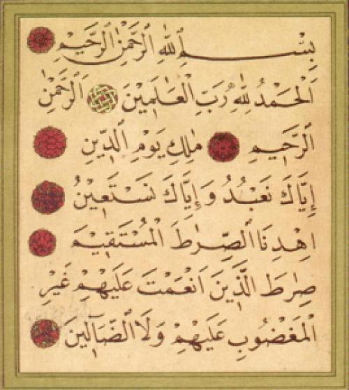 Fatiha - Prayer For Luck In Islam