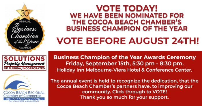 Cocoa Beach Archives - Solutions Property Management