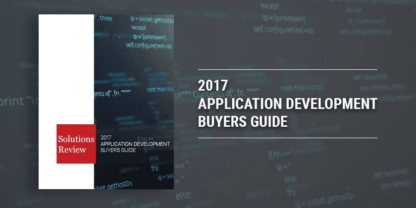 Application Development Buyer's Guide