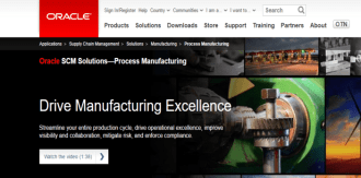 Top 6 ERP Vendors for Manufacturing