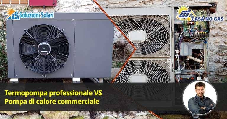pompe di calore e termopompe professionali