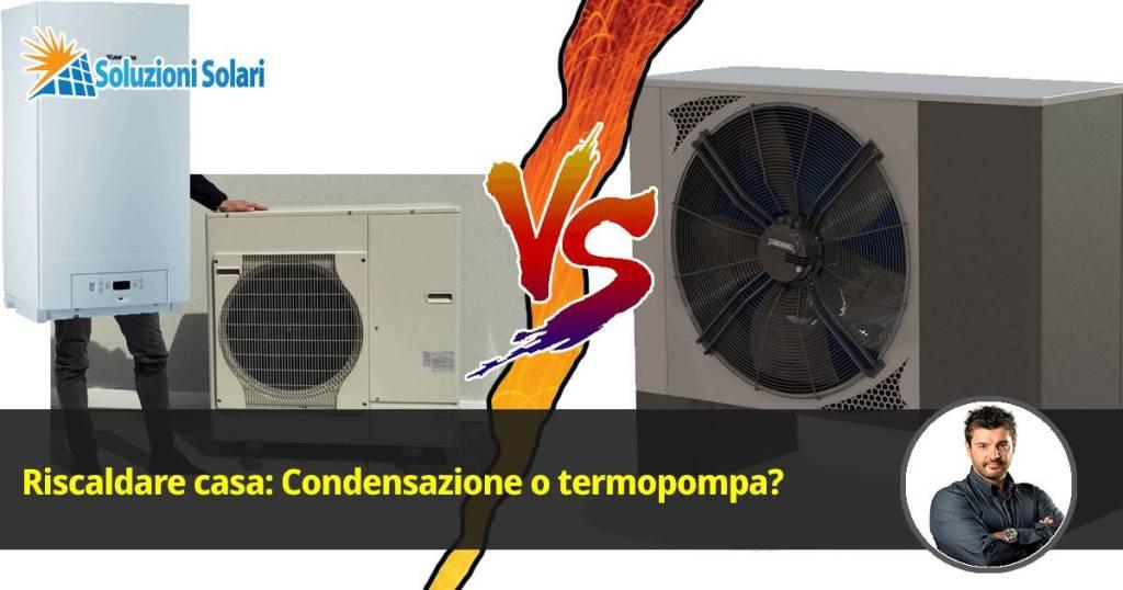 caldaia a condensazione o termopompa professionale