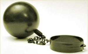 Harrison Bergeron ball chain