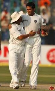 Anil Kumble - Sachin Tendulkar