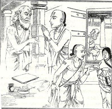 ஓவியம் : காரேய் கருணை இராமனுசன் புத்தகம்