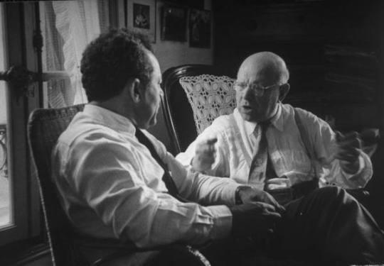 Pablo Casals and Alexander Schneider