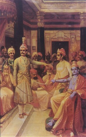 KRIShna_Duryodhana_Samvad_Paandava-AMBASSADOR