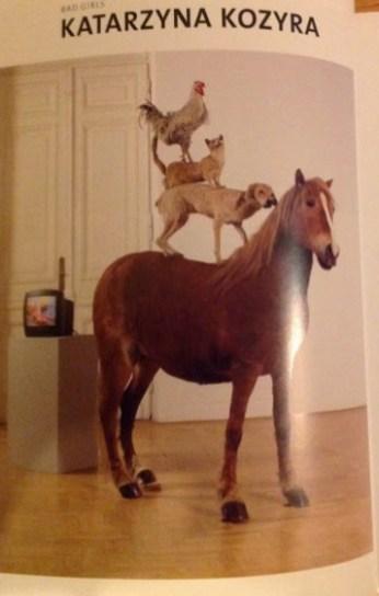 Pyramid of Animals - Katarzyna Kozyra