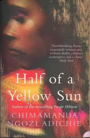 half of yellow sun
