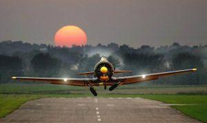 plane-sun