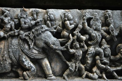 Indian_Arts_Ancient_Architectures_Temples_Belur_Halabedu_Stones_Carvings_Elephants_Statues