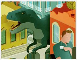 Dinosaur_Backyard_Trex_Look_Home_House_Pet