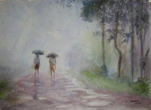 rain-painting