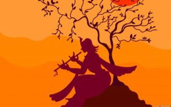 Lord-Krishna-Plying-Flute-For-Janmashtami