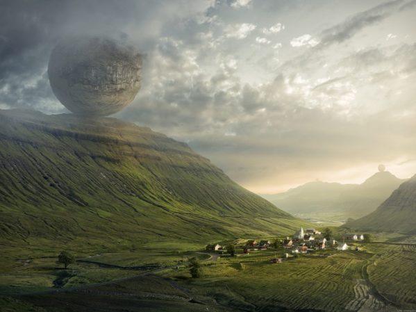 fake_separate_world_globe_round_bubble_dissipate_live