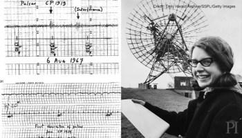 Jocelyn Bell Burnell describes how she discovered pulsars