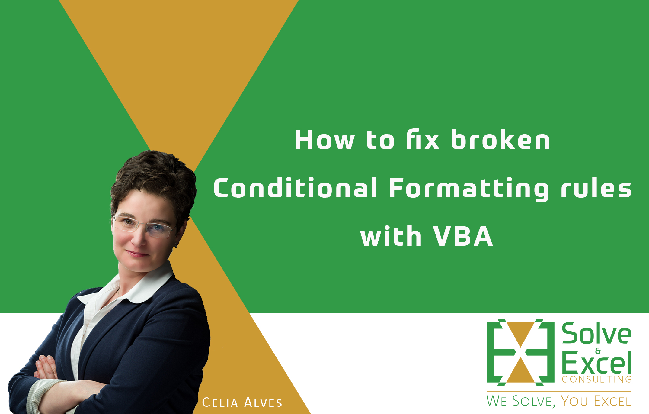 How To Fix Broken Conditional Formatting Rules With Vba