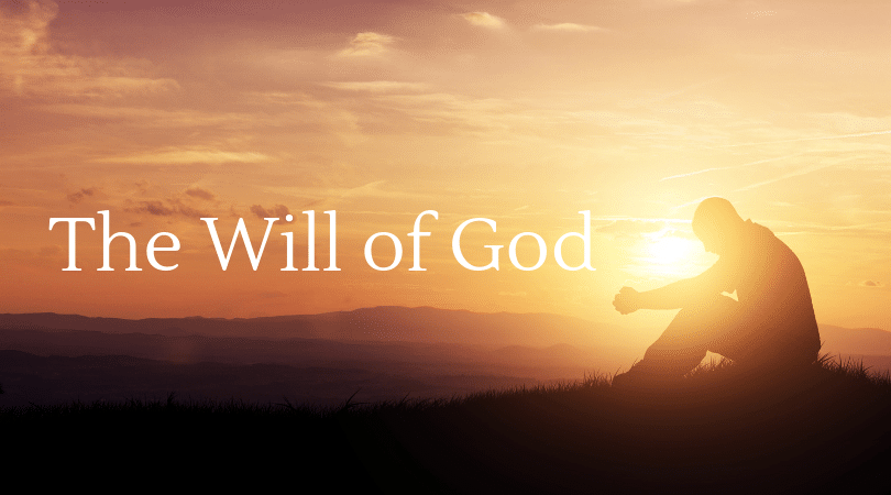 How should we pray? Praying according to God's will