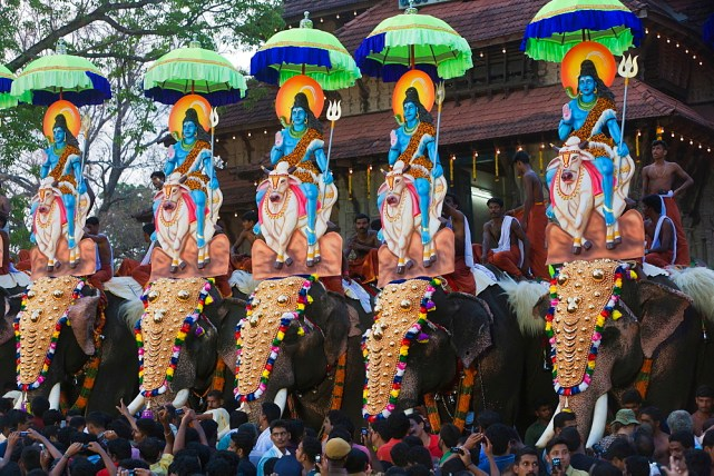Thrissur Pooram Text SMS Quotes 2020