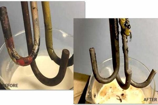 Cleaning and Degreasing Hooks